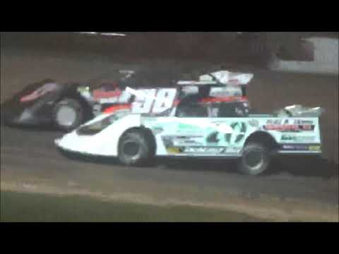 Dirt Kings Late Model Feature Luxemburg Speedway 6/8/18