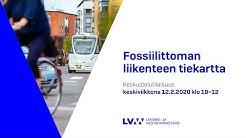 Keskustelutilaisuus 12.2.2020 klo 10: Fossiilittoman liikenteen tiekartta