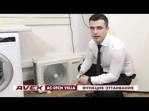 Обзор сплит-систем AVEX серии VELLA