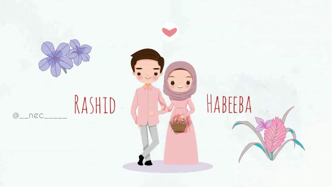 Malabar Muslim wedding invitation video  Rashid&Habeeba   YouTube