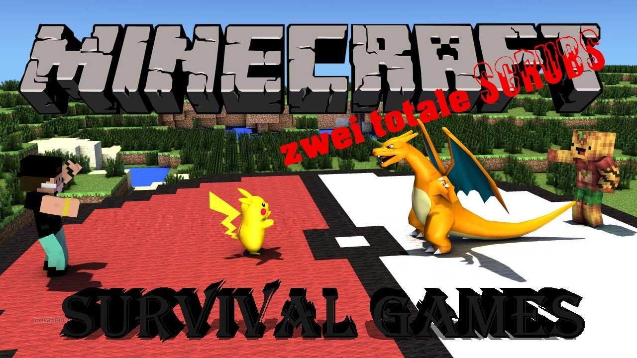 Zwei Dumme Schlechte Spasten Spielen Minecraft Survival Games W - Minecraft survival spielen