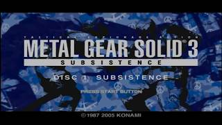 Metal Gear Solid 3: Snake Eater - 01 - Virtuous Mission