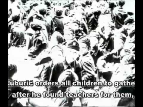 Jasenovac - Cruelest Death Camp in WW2 (English subs) (WARNING -- NOT CENSORED)