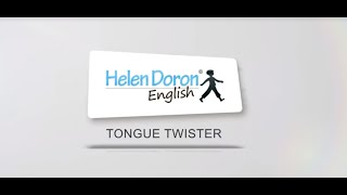 Helen Doron Tongue Twister #4