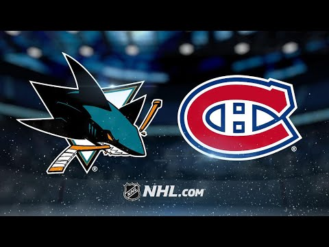 Meier scores twice as Sharks down Canadiens, 4-1