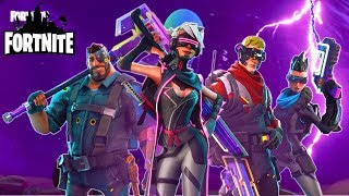Discover Heroes Cyber Punk - Survive the storm! Fortnite Saving the World