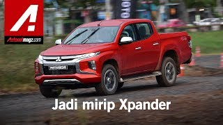 Mitsubishi Triton 2019 First Drive in Thailand by AutonetMagz