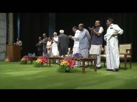 Hamid Ansari Narendra Modi wonderful Handshake