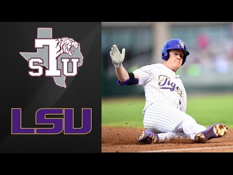 Texas Southern Tigers Vs LSU Tigers | College Baseball Highlights