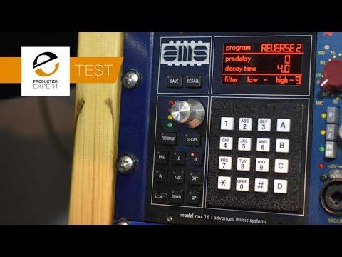AMS Neve RMX 16 500 Series Reverb - Test