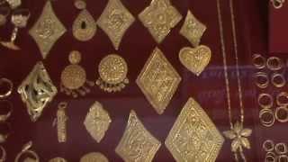 ทองคำรูปพรรณเมืองลาว Gold ornament Laos