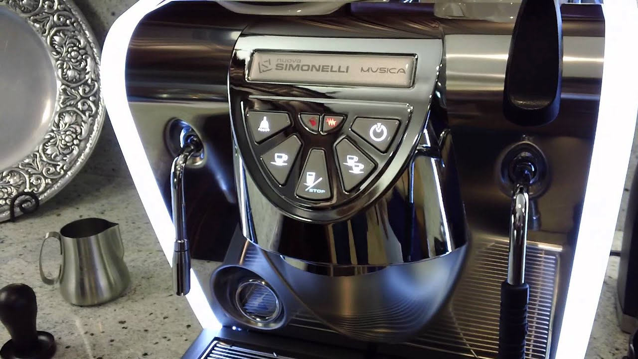 Nuova Simonelli Musica Espresso Machine Walkthrough