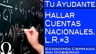B) El Producto Interno Bruto / Ejercicio de Macroeconomía Nº3