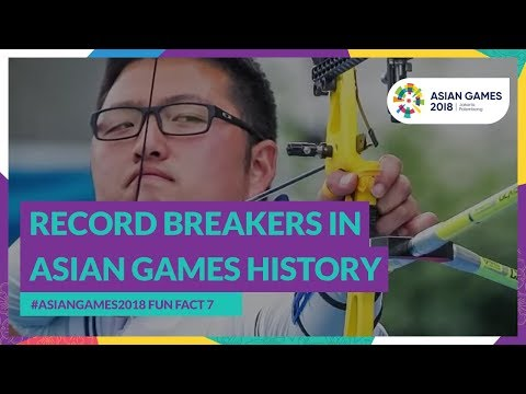 #AsianGames2018 Fun Fact 7 - Record Breakers In Asian Games History