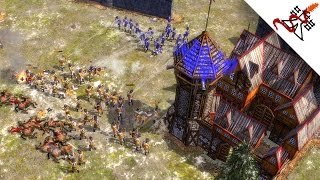 Age of Empires 3 - 3vs3 TWO FRONTS WAR | Multiplayer Gameplay