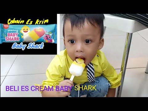 BELI ES CREAM BABY SHARK |REVIEW ES CREAM BABY SHARK