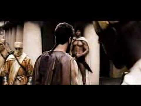 300 This Is Sparta Full scene - YouTube