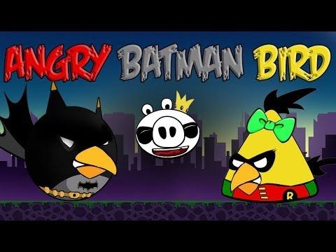 Angry Batman Bird