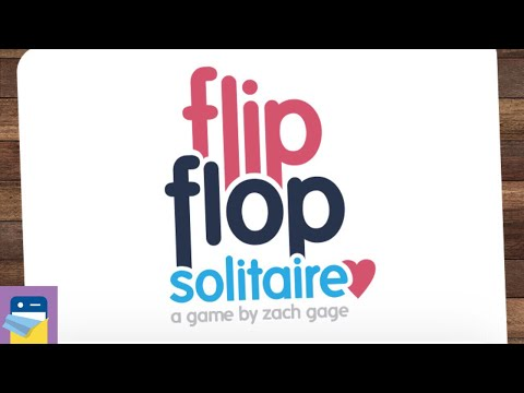 FlipFlop Solitaire: iOS iPhone 8 Gameplay (by Zach Gage)