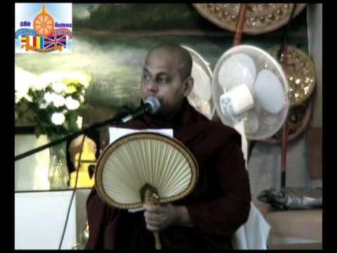 Dhamma Talk - Samma Ditthi Sutta - The Discourse on Right View - Ven Akurala Samitha 12-3-2011
