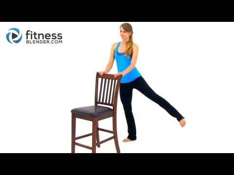 Barre Workout for Butt and Thighs - Workout for Lean Legs and Toned Butt