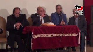 أبطال أفلام نجيب محفوظ في إحتفالية تكريمه بـ«قصر السينما»