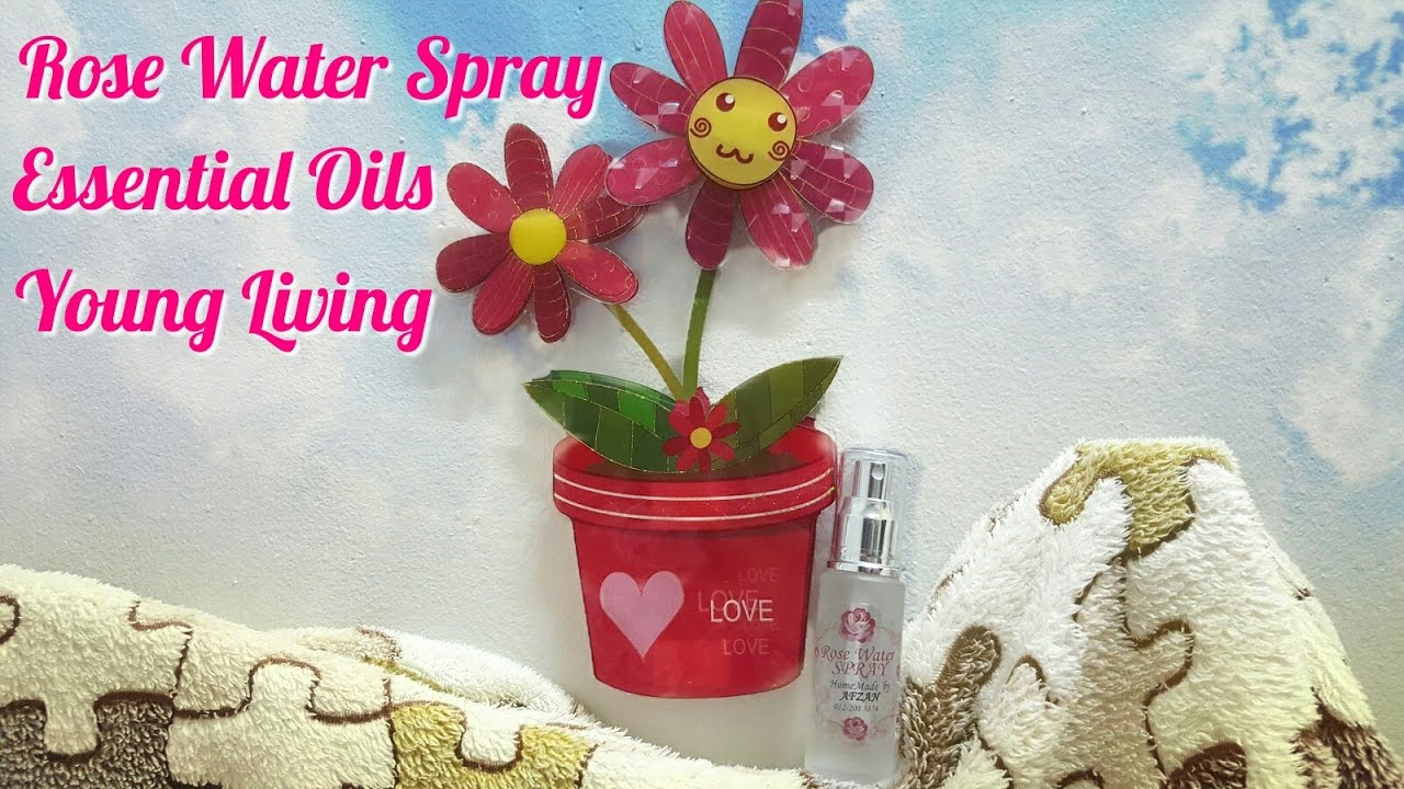 Rose Water Spray Essential Oils Young Living Youtube