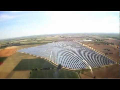 Rovigo Italy Utility Solar Power Plant