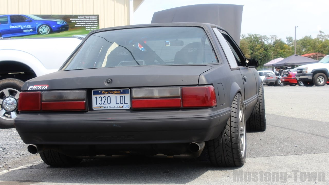 Foxbody Mustang Notchback (LS1 swap - IRS equipped LX Coupe)