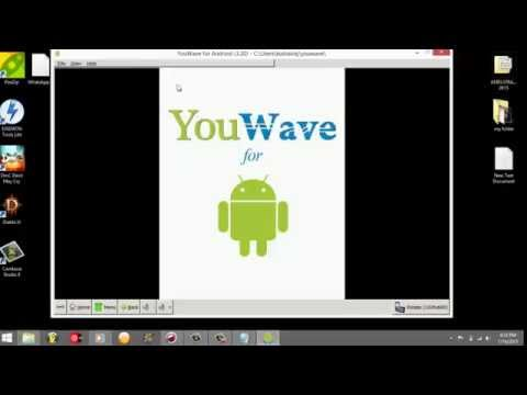 How To Install Whatsapp In PC Using YOUWAVE