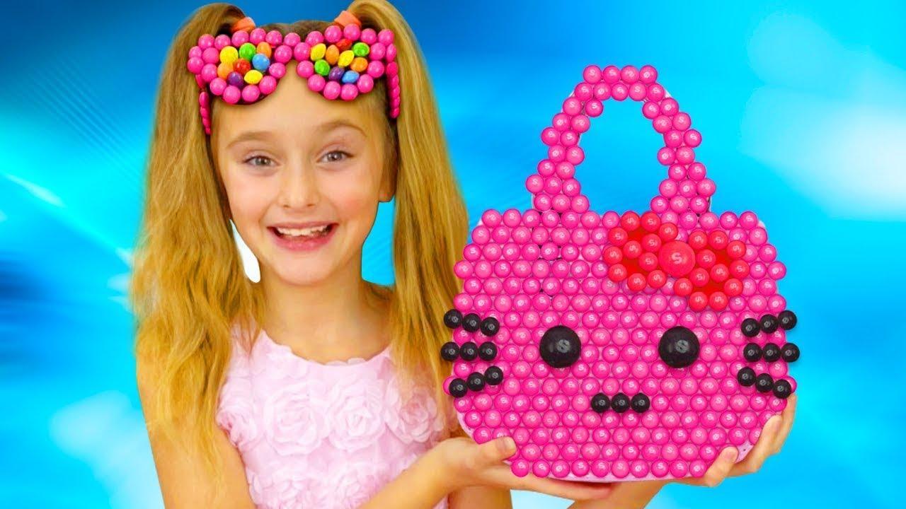 Sasha y compilación de historias divertidas sobre el desafío del chocolate y los dulces dañinos