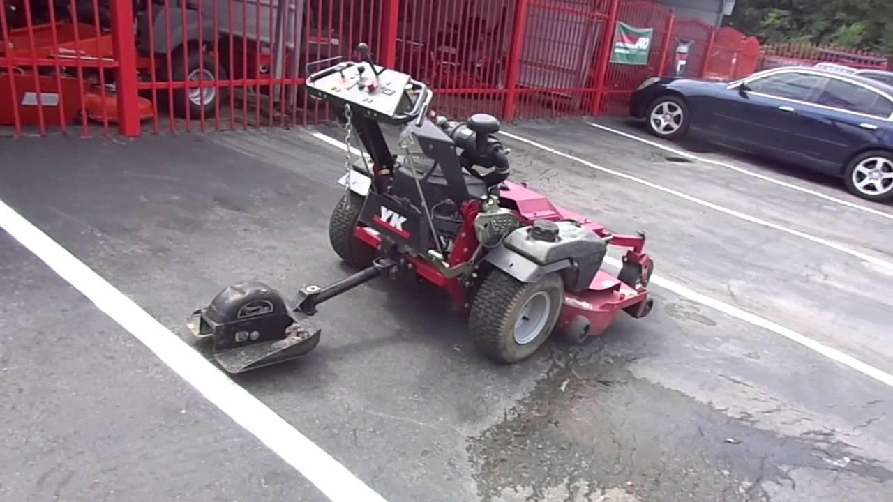"""300 Garden Walk: Used 52"""" Yazoo Kees Walk Behind Lawn Mower 21 HP Kawasaki"""