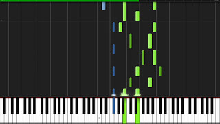Memory - Undertale [Piano Tutorial] (Synthesia)