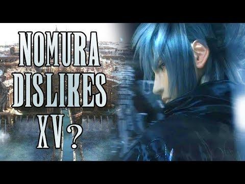 Did Nomura just DISS Final Fantasy XV?