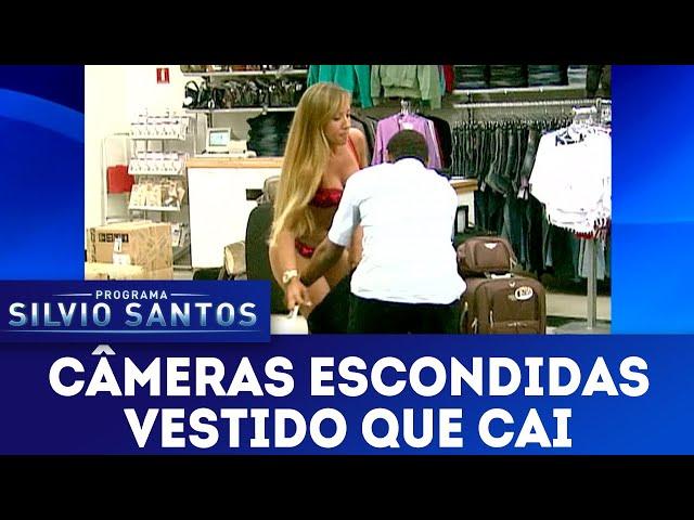 Vestido que Cai | Câmeras Escondidas 03/02/19