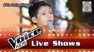 "The Voice Kids Philippines 2016 Live Semi-Finals: ""Open Arms"" by Justin"