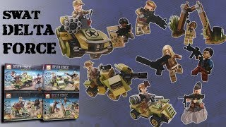 Lego SWAT - Delta Force - Bootleg Review by Elephant