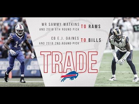 Bills Trade Sammy Watkins and Ronald Darby! - NFL Offseason 2017