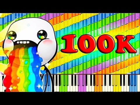 100,000 SUBSCRIBERS 100,000 NOTES SPECTACULAR