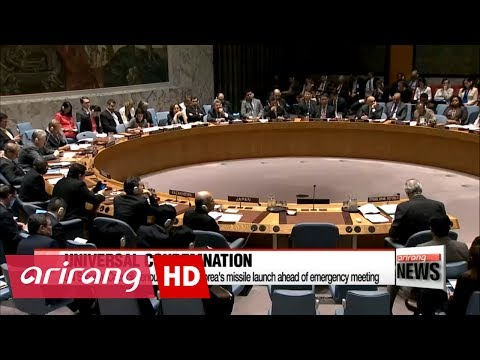 UN Security Council adopts statement condemning N. Korea's missile test