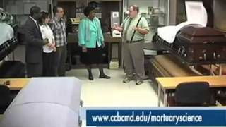 Mortuary Science Program at CCBC