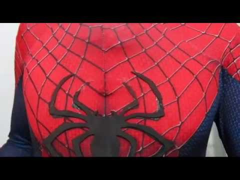 The Amazing Spider Man 2 Suit Part 4 The Spider Symbol Youtube