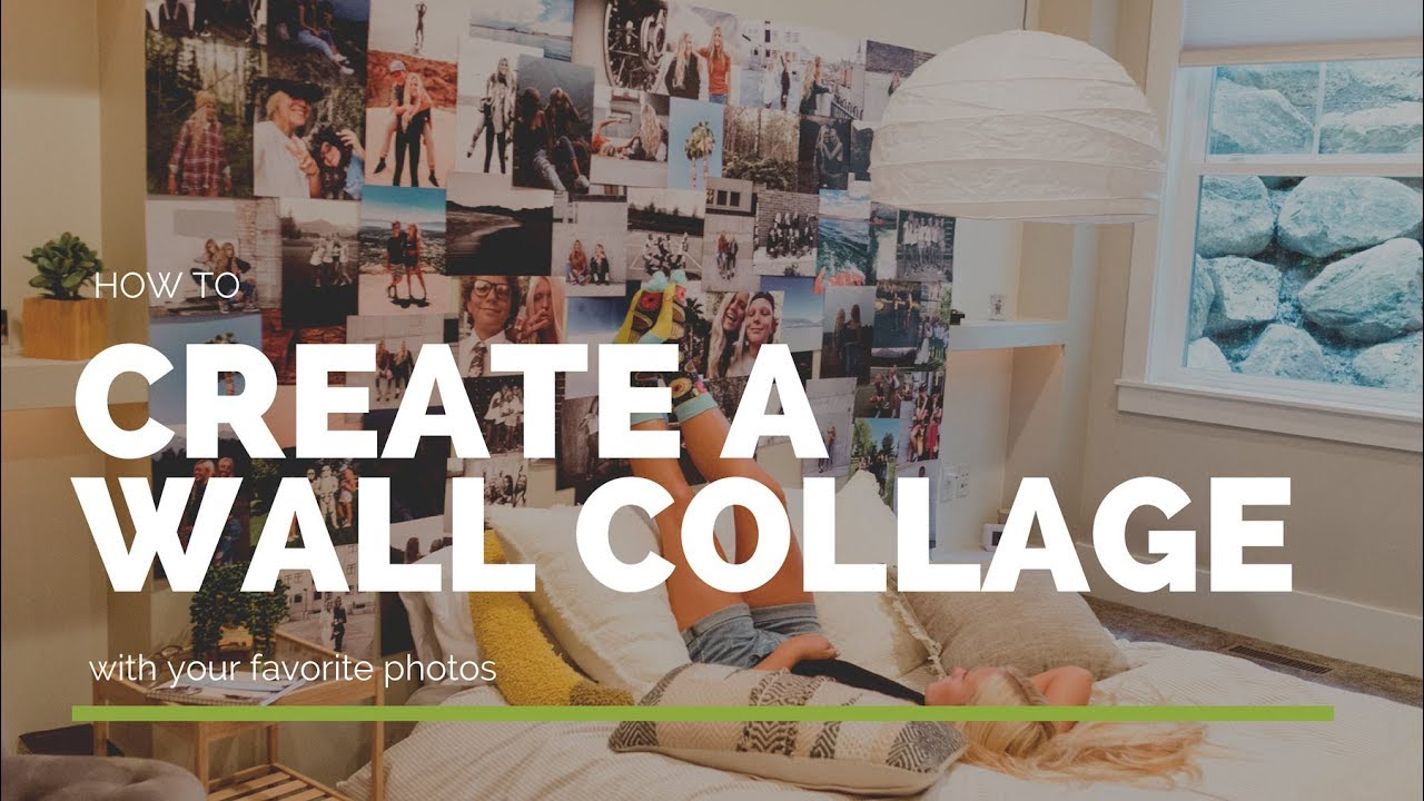 Create a Collage Wall Kit with your Photos! Easy and Affordable