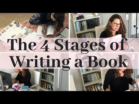 The 4 Stages of Writing a Book: The Basics