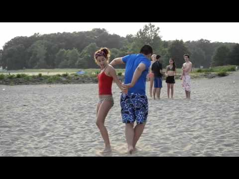 Swing Dancing at the Beach!
