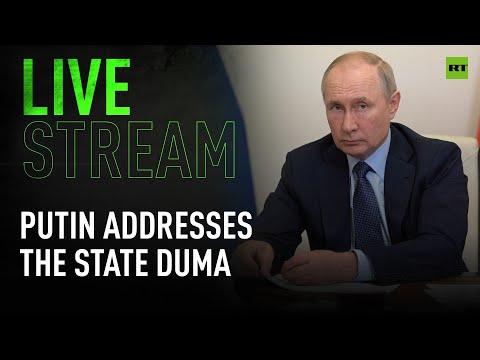 Putin delivers address to deputies of 8th State Duma