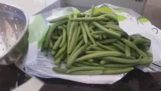 Как приготовить зеленную стручковую фасоль....