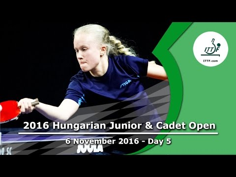 2016 Hungarian Junior & Cadet Open Day 5