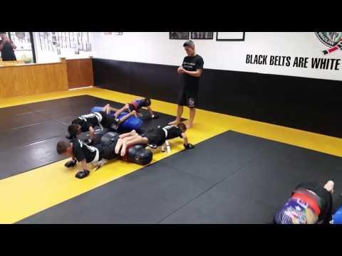 Kids II Kick Boxing drills