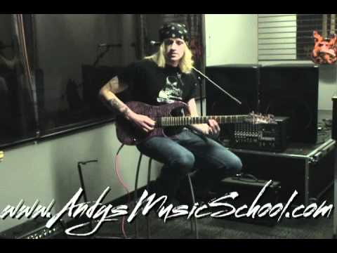 Free Guitar Lesson Andy's Music School